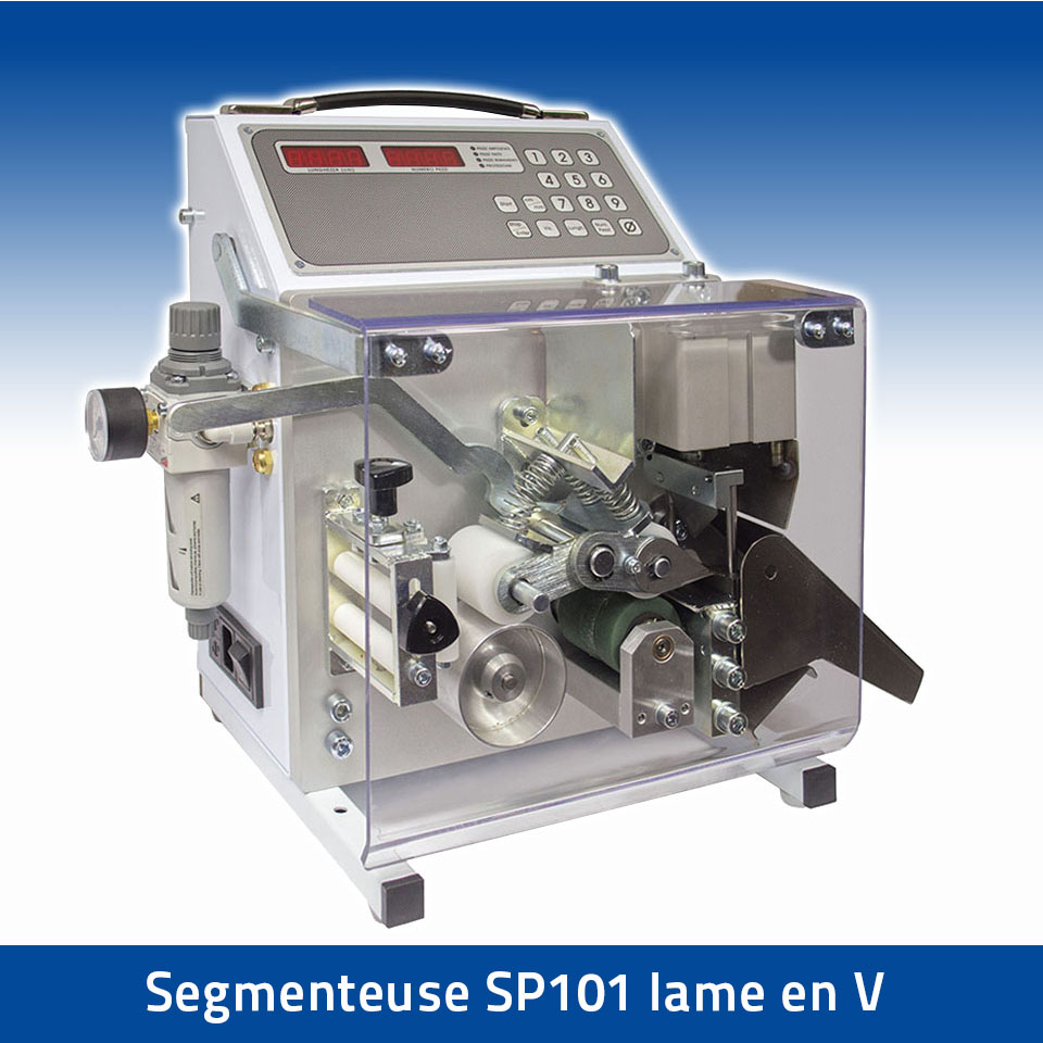 Segmenteuse SP101 lame en V